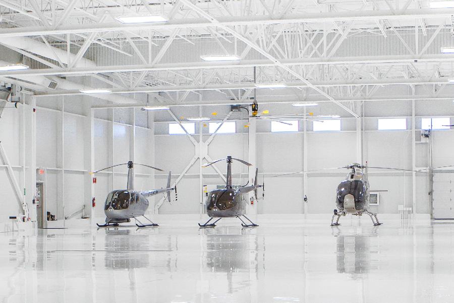 Flotte Hélicoptères